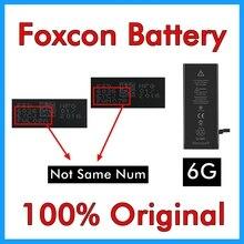 BMT Original 5 pièces Foxcon Usine Batterie pour iPhone 6 6G 1810 mAh 0 réparation 100% Véritable
