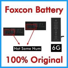Bmt 원래 5 pcs foxcon 공장 배터리 아이폰 6 6g 1810 mah 0 사이클 수리 100% 정품