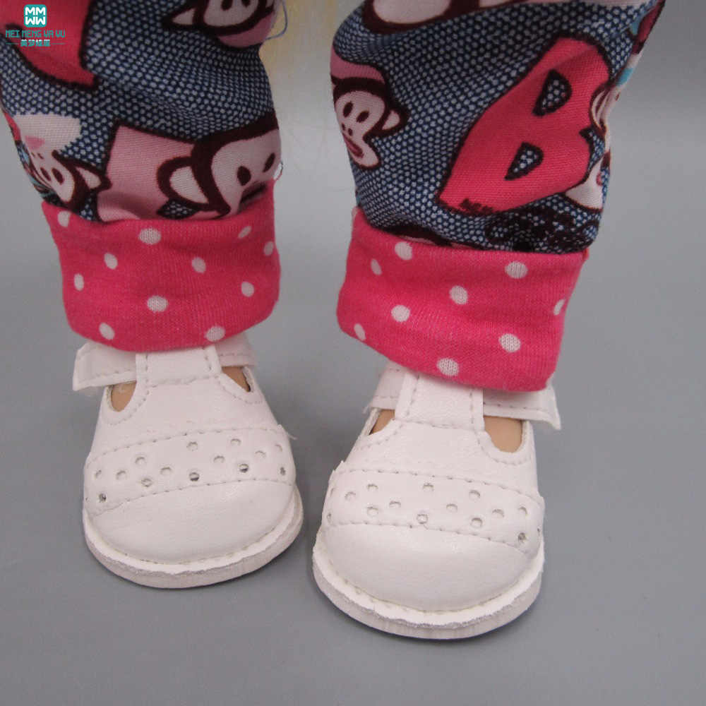 2018 Новинка 6,5 см мини белая повседневная обувь подходит Куклы подходит для 1/4 BJD куклы и 40 см салонные куклы аксессуары