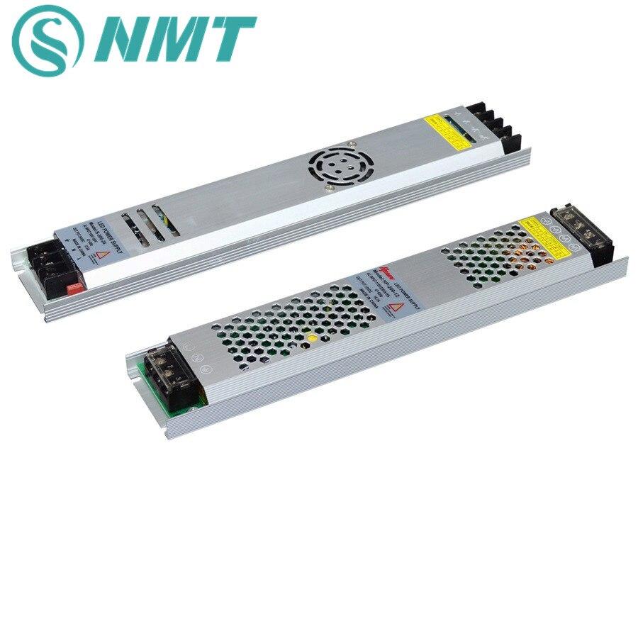 LED Power Supply Ultra Thin Aluminum DC12V 5V 24V 200W 300W Led Driver Lighting Transformers For LED Strip Light AC190-240V