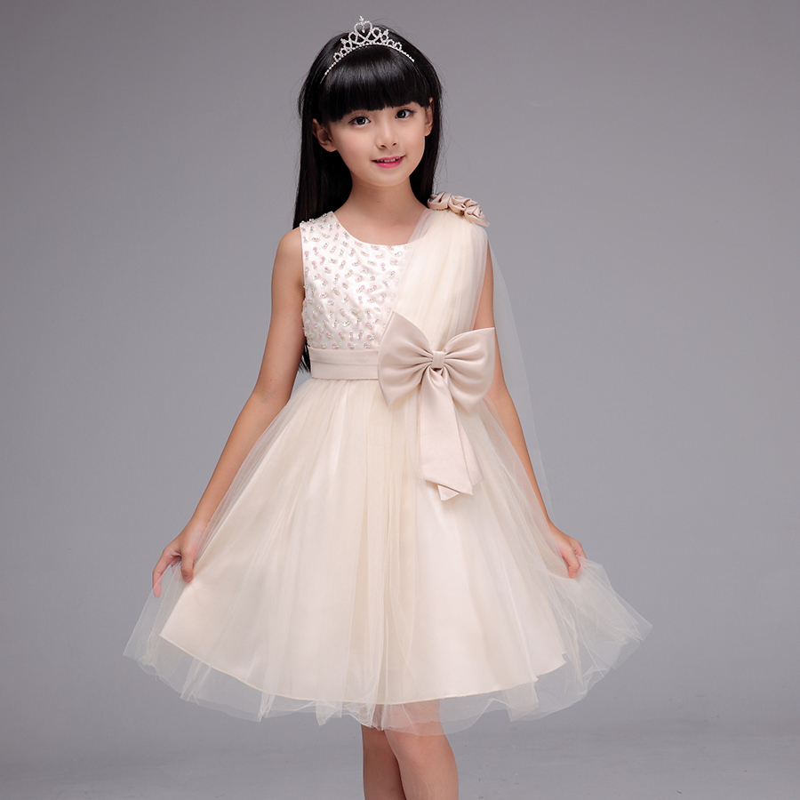 Children Girl Party Wear Western Dress With High Quality