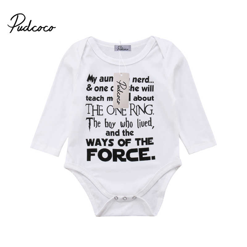 5306ecbc6f1 Newborn Baby Boy Cotton Long Sleeve Bodysuit Jumpsuit Clothes Outfit THE  BOY WHO LIVED Harry Potter