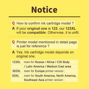 Image 3 - HWDID 123XL ומילא דיו מחסנית החלפה עבור HP 123 XL עבור Deskjet 1110 2130 2132 2133 2134 3630 3632 3638 4520 4522