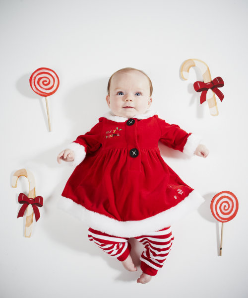 2PCS/0 6T/2015 baby girl christmas outfit cute toddler girl ...