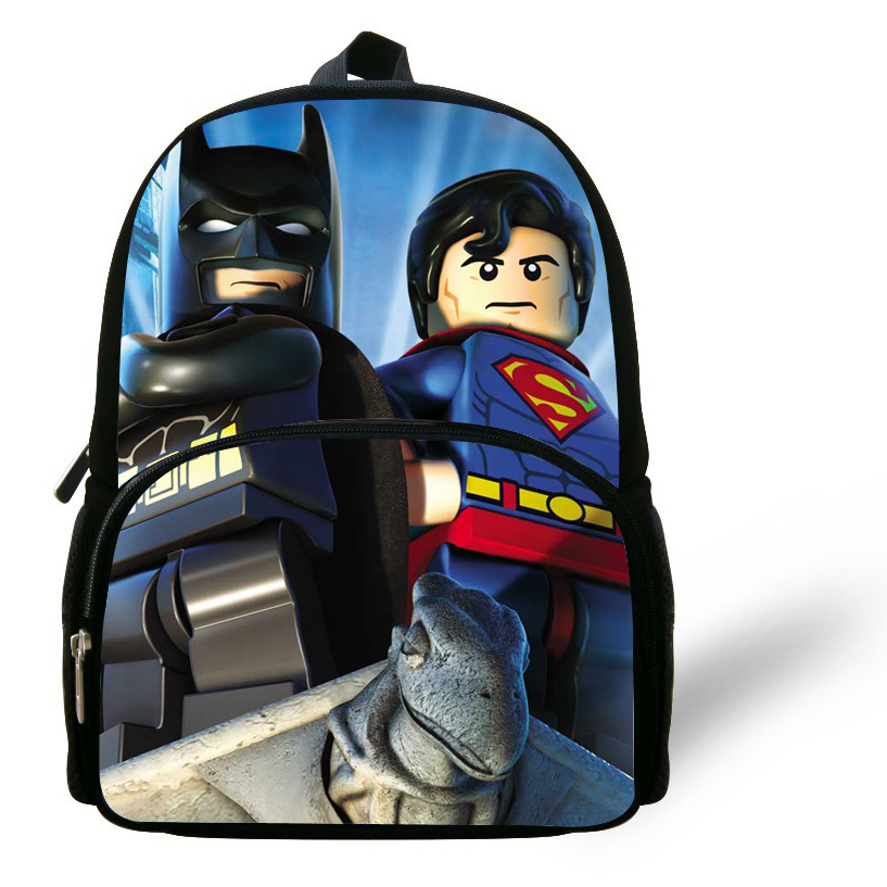 Aliexpress.com : Buy 12inch Batman printed boys bag kids backpacks ...