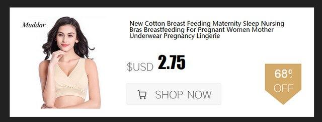 1da144137 Nova Maternidade Sutiã de Amamentação de Algodão Mulheres Grávidas ...