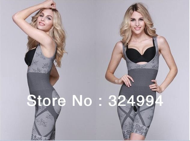 FREE SHIPPING 2PCS/LOT! Women's Magic slimming underwear ,bamboo charcoal slimming suits ,gray color, Sculpting Underwear!
