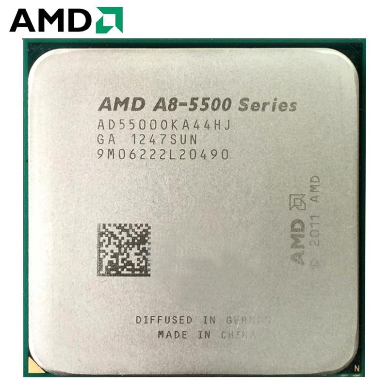 AMD A8-Series A8-5500 A8 5500 A8 5500K 3.2 GHz CPU Desktops Processor AD5500OKA44HJ/AD550BOKA44HJ Processors Socket FM2