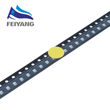 100pcs 0805 YELLOW LED Flashing LED SMD Diodo 0805 SMD Blink LEDs Flash Blinklicht Diodes