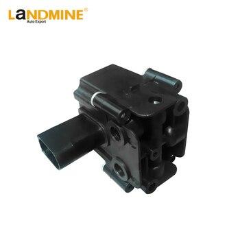 Envío Gratis nueva suspensión de aire de la válvula de solenoide de ajuste BMW X5 E70 X6 E71 E72 37206789938