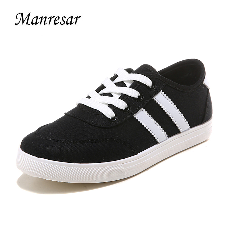 Manresar 2017 New Fashion Lace-up Zapatos Mujer Women Sneakers Classic Canvas Casual Shoes Sneaker Shoes for Woman and Girls uovo brand kids spring autumn new sport shoes for girls green color casual sneakers kids fashion canvas shoe zapatos eu 30 37