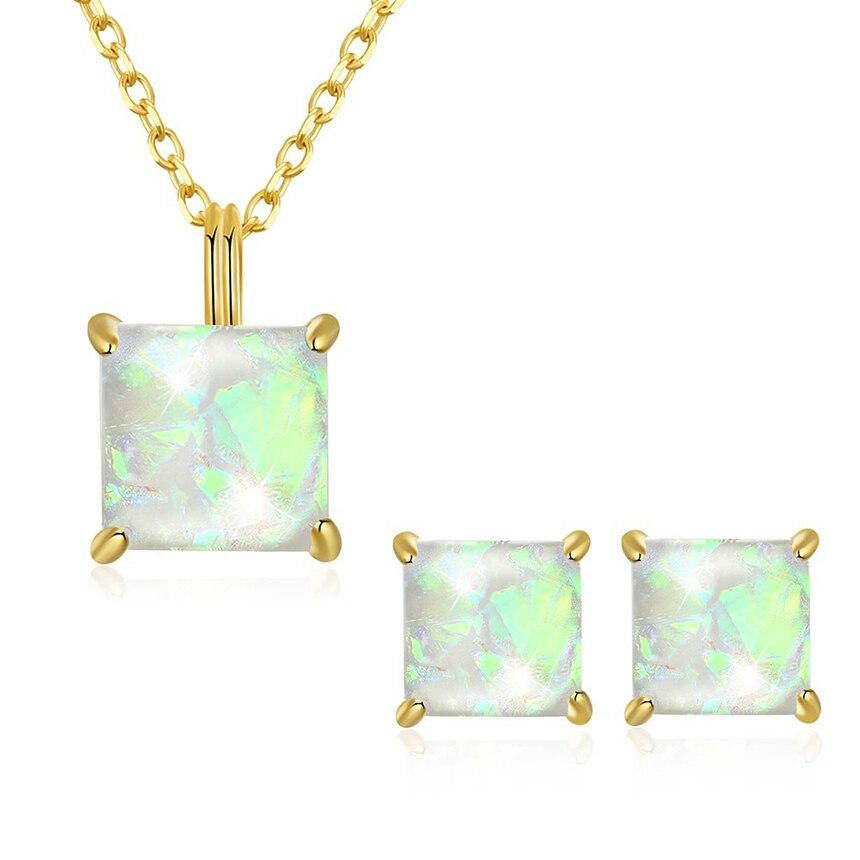 Européen et américain classique en argent Sterling 925 perle chaîne colliers boucles d'oreilles pour les femmes ensembles costume bijoux fins Halloween cadeau