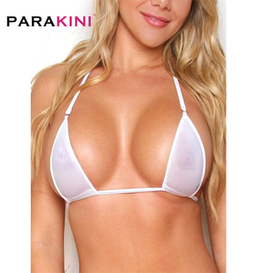 PARAKINI 2019 Sexy Micro Mini Bikini Set Women Erotic Transparent Swimwear Bathing Suit Tiny G-String Thong Bikinis Beachwear