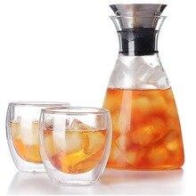 250 мл термостойкая стеклянная чашка с двойными стенками, чашка для чая и напитков, ручная работа, изолированное прозрачное стекло, Прозрачная форма для яиц, водное стекло