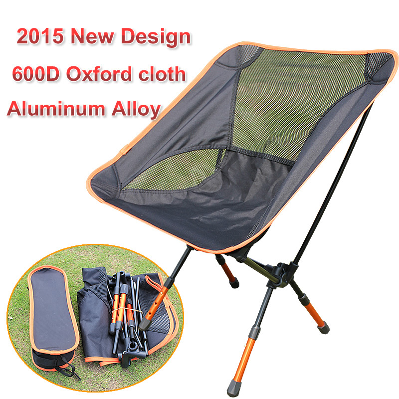 2015 Rushed Hot Sale Free Shipping 7075 Aluminum Lightweight Portable Folding Beach Chairs Outdoor Camping