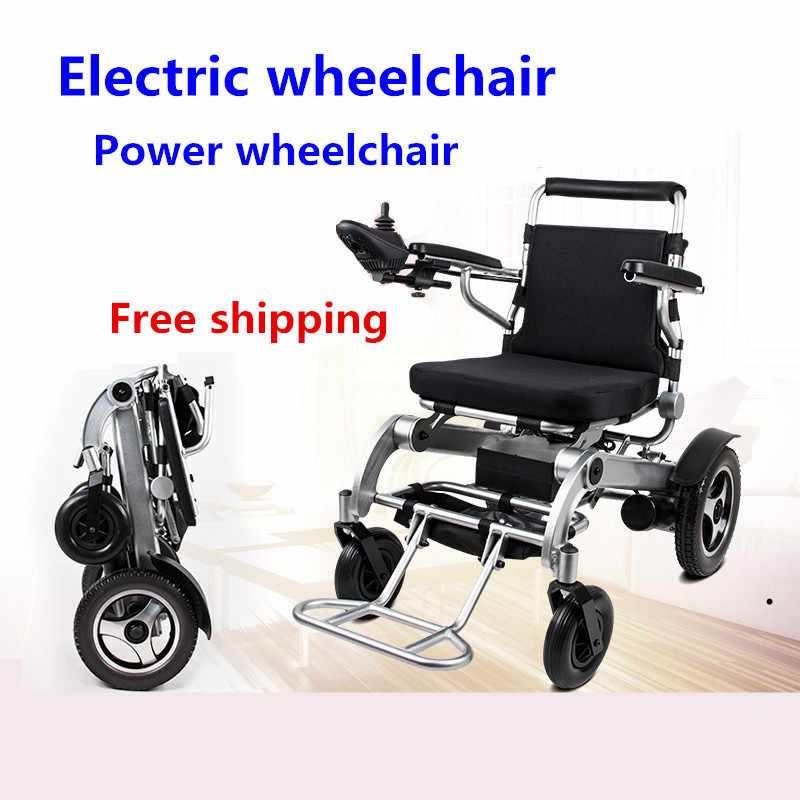 Great wheelchair lightweight big loading capacity power motor electric wheelchair