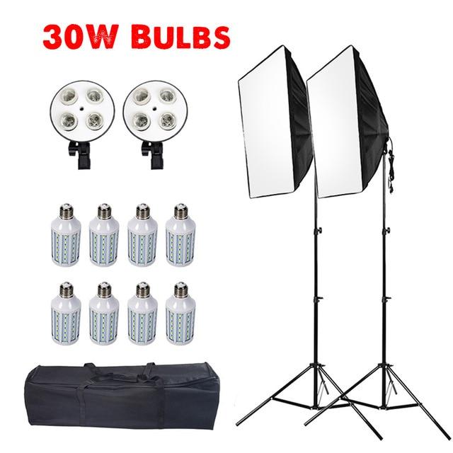 kit de iluminação fotográfica câmera & foto