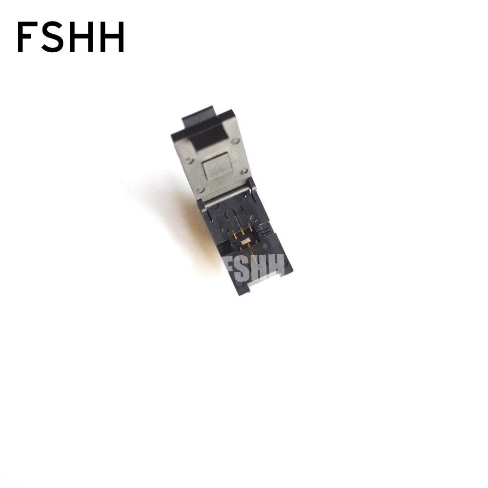FSHH 7050 Crystal Oscillator Test Socket 7050-6pin Test Socket Size-7x5mm