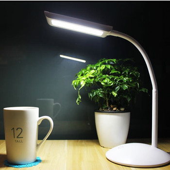 5V USB With Table Lamp With Clip Flexible Table Lamp 18Leds Bedside Book Reading Study Office Work Children's Table Lamp
