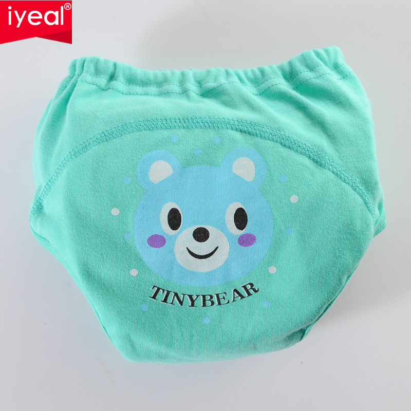 IYEAL High Quality Baby Diapers Reusable Nappies Cloth Diaper Toddler Girls Boys Waterproof Cotton Potty Training Pants 8PCS/Lot