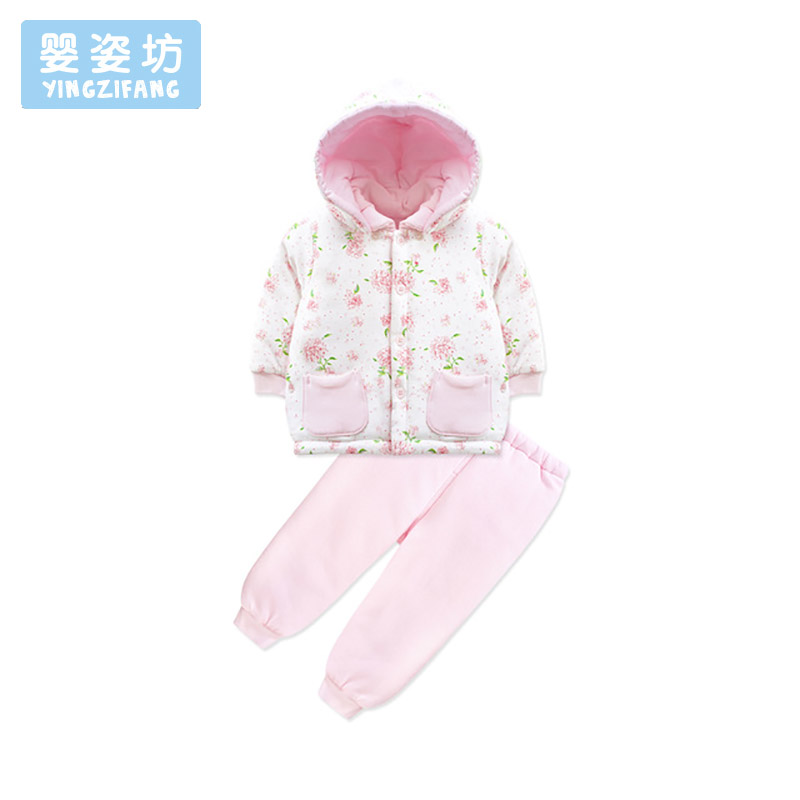 Baby Girls Clothes Children Clothing Sets Kids Tracksuits for Girls Sets Flower Pattern Baby Girl Casual Suit Costume brand children girl casual tracksuits infant outfits kids clothing sets girls sport suit for children babi girls tees leggings