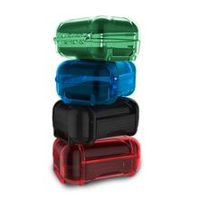 KZ akcesoria do słuchawek słuchawka twarda obudowa torba żywica ABS wodoodporna kolorowa ochronna przenośna pamięć masowa torba Box na słuchawki douszne