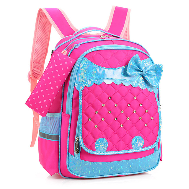 New Fashion Children Backpacks Primary School Bags For Girls Kids ...