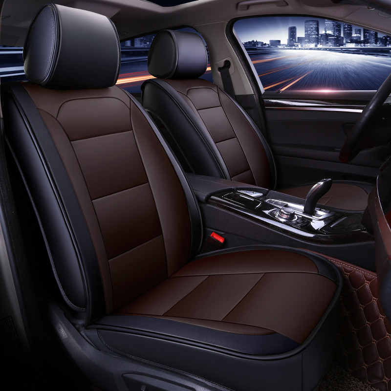 Всесезонные универсальные автомобильные подушки для сидений, автомобильные накладки для Audi A3 A4 A5 A6 A7 Series Q3 Q5 Q7 SUV Series - 5