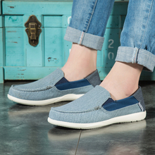 Canvas Shoes Men Fashionable Casual Footwear Spring Summer Loafers Breathable Sneakers