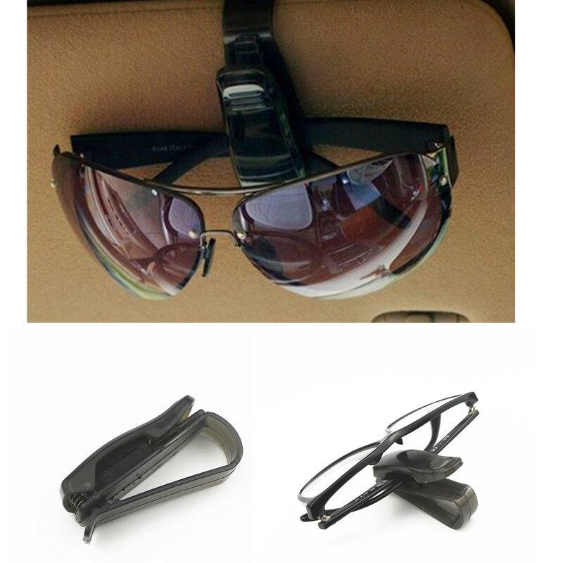 2018 Hot Sale Auto Fastener Auto Accessories ABS Car Vehicle Sun Visor Sunglasses Eyeglasses Glasses Ticket Holder Clip Glasses Case     - title=