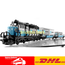 IN STOCK Lepin 21006 1234pcs New Genuine Technic Ultimate Series The Maersk Train Set Building Blocks Bricks Toys 10219