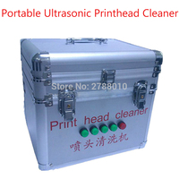 Portable Ultrasonic Printhead Cleaner Electric Printhead Cleaning Machine Ultrasonic Cleaner DX5 DX6 DX7 Printhead