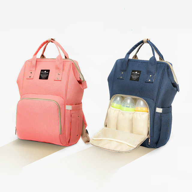 Fashion Baby Diaper Bag, Maternity Solid Nappy Bag for Stroller