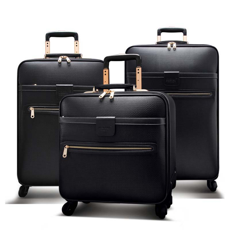 Men Business Rolling Luggage Spinner 16 inch Cabin Trolley Password Suitcase Wheels 20/24 inch High capacity Travel Bag Trunk oxford rolling luggage spinner men business suitcase wheels 20 inch carry on trolley password 30 inch high capacity travel bag