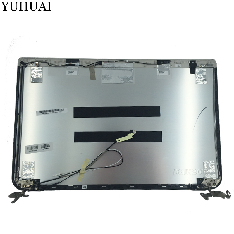 NEW Top cover For Toshiba Satellite P55 B LCD Back Cover H000070900 13N0 W9A0901 silver