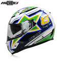 NENKI Fiberglass Motorcycle helmet Full Face Moto 856BR Capacetes Motociclismo Cascos Para Moto Casque Motosiklet Kask Helmets