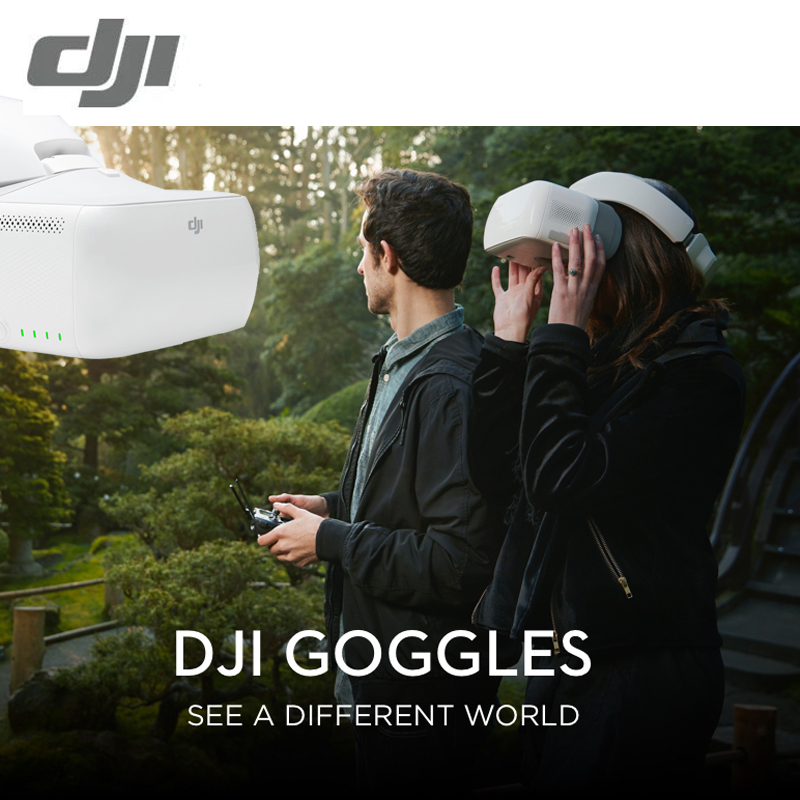 In Stock  DJI GOGGLES FPV VR Glasses Mavic Pro Inspire Phantom 4 Drones Quadcopters Multicopters Camera sUAV Aerial Photography dji spark glasses vr glasses box safety box suitcase waterproof storage bag humidity suitcase for dji spark vr accessories