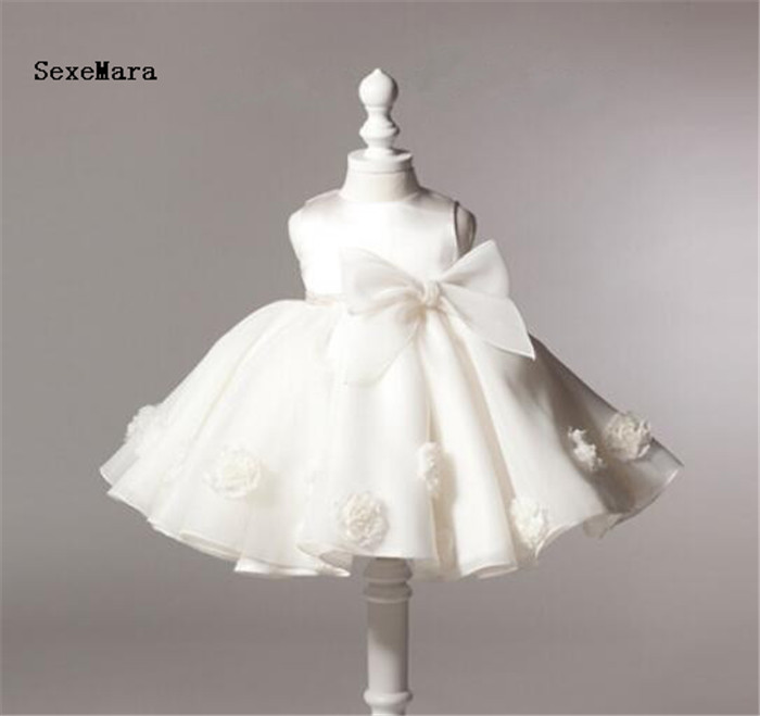 Baby Girls 1 year Birthday Party Dresses Princess baby girls dress white tulle christening dresses Bow Christmas Dress for girls girls christmas xmas dresses kids girls princess party carnival tutu dress baby girl red new year fancy party dress up outfits