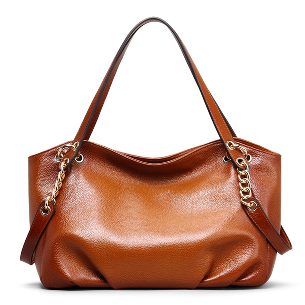 ROCKCOW Genuine Leather Shoulder Bag For Women, Leather messenger bag, women lady handbags women s leather bag women s leather bag leather bag lady s shoulder messenger bag