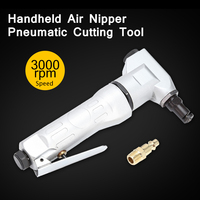 Professional Handheld Air Nipper Pneumatic Cutting Tool Nibbler Drill Attachment Metal Sheet Cutter Free Cutting Tools