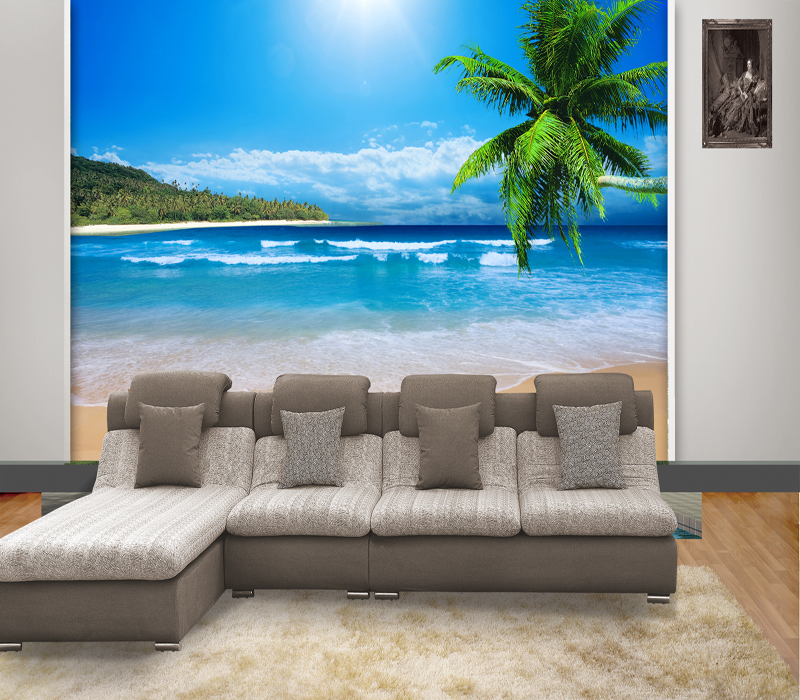 Large custom 3D stereoscopic Mediterranean seascape murals TV background wallpaper bedroom living room sofa wall paper landscape custom 3d stereoscopic large mural wallpaper wall paper living room tv backdrop of chinese landscape painting style classic