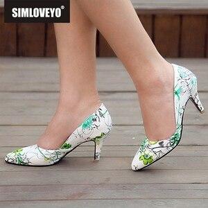 SIMLOVEYO Women pumps High hee