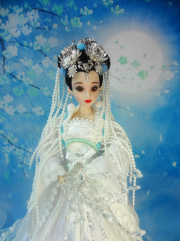 12 Handcrafted Collectible Chinese Dolls With Flexible Joints Ancient Girl Dolls Vintage BJD Doll Toys Christmas Gifts pure handmade chinese ancient costume doll clothes for 29cm kurhn doll or ob27 bjd 1 6 body doll girl toys dolls accessories