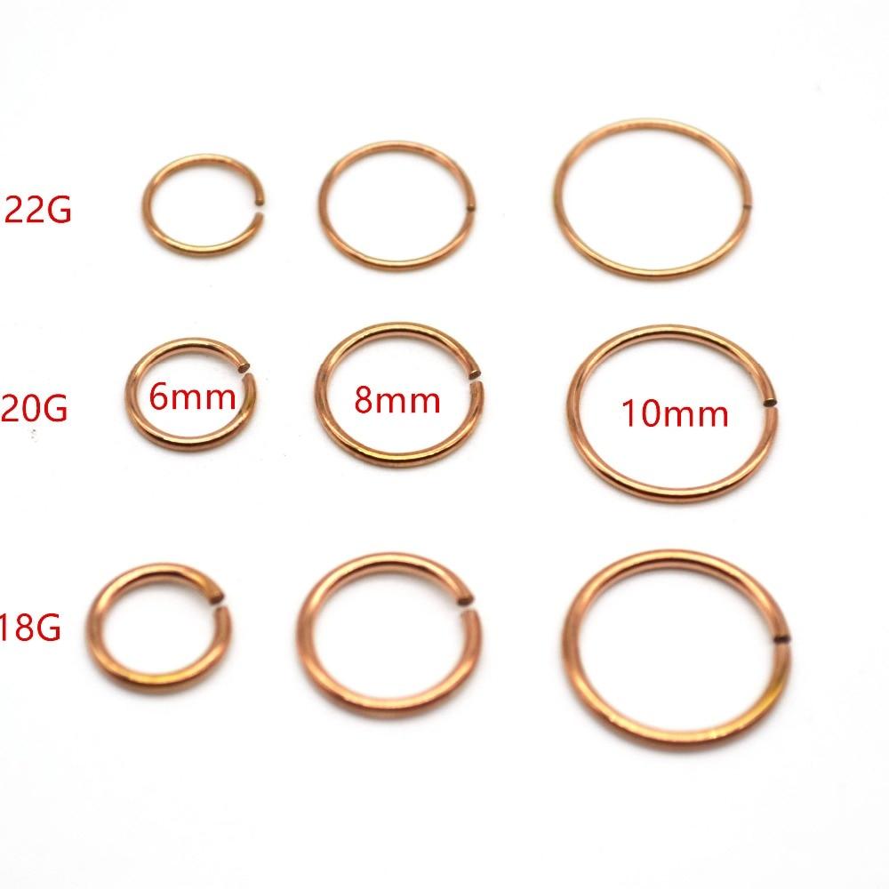 Popular 18 Gauge Nose Ring Buy Cheap 18 Gauge Nose Ring