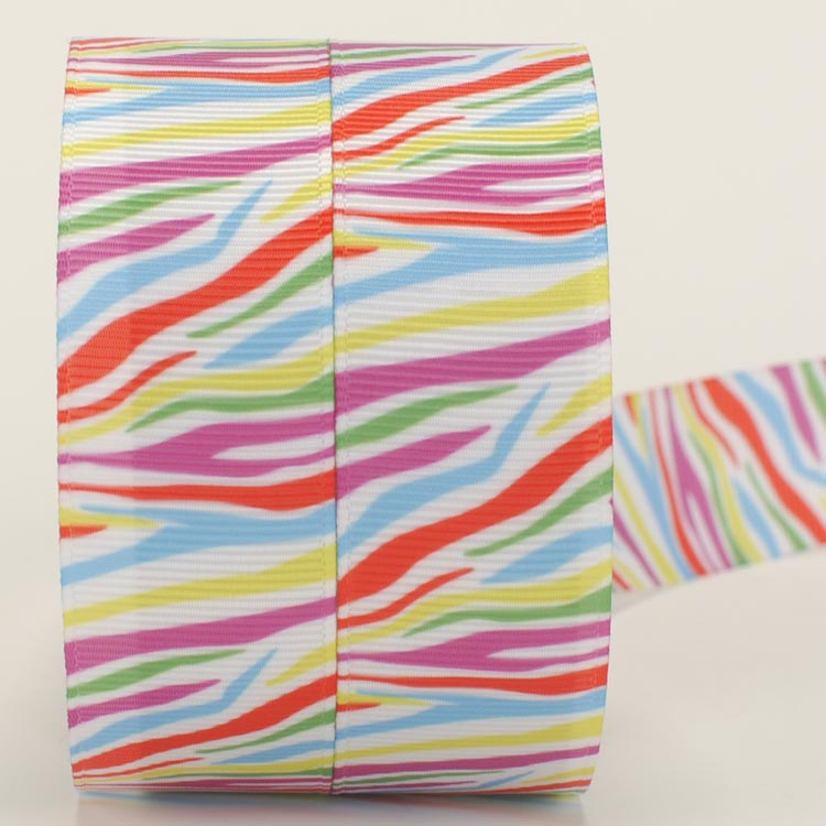 NEW sales 50 yards lively color draw printed grosgrain ribbon free shipping
