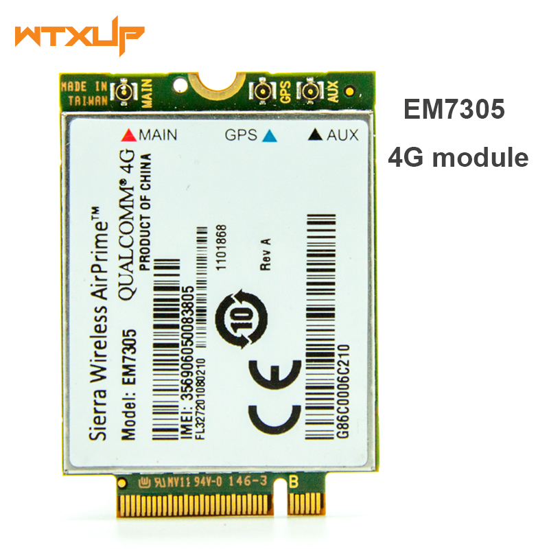 WTXUP 4G Module LTE WWAN Card For Sierra Wireless Airprime EM7305 M.2