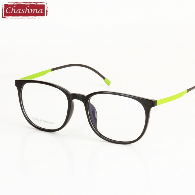 81a02ecfee4f Chashma Brand 2017 New TR 90 Large Frame Quality Glasses Men Retro Glasses  Frames Round Women