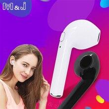 M&J i7s TWS Hearphone Ture Mini Wireless Bluetooth Earphone Stereo Music Headset With Mic For All Smart Phone One Piece