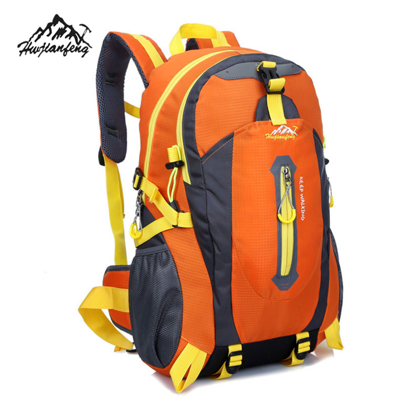 Hot Sale Gifts 40L Waterproof Backpack Shoulders Bags Sports Climbing Travel Hiking Camping Luggage Backpack Rucksack Bag