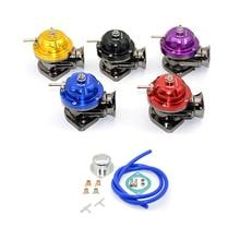 Uniwersalny zawór wydmuchowy Turbo typu RS regulowany 25psi BOV adapter wydmuchowy/wydmuchowy 5 kolorów